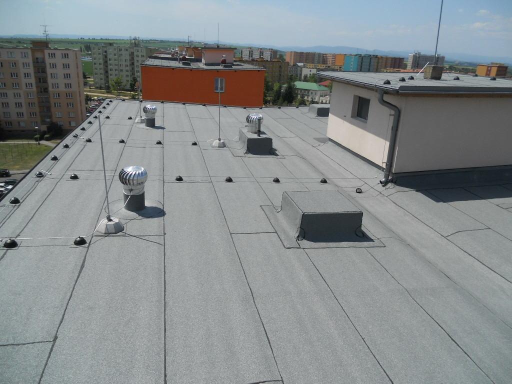 Plochá střecha a její hydroizoalce