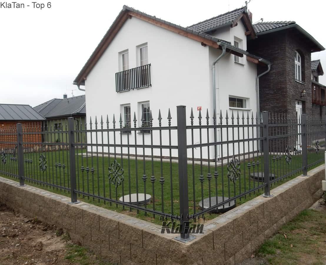 Kovaný plot Kla Tan