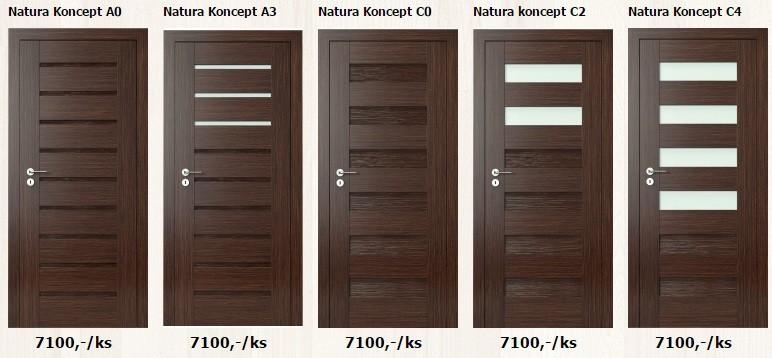 Interiérové dveře Plancher
