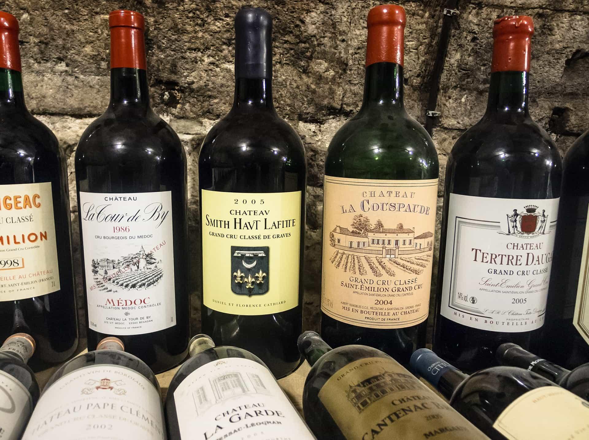 Skladování vína