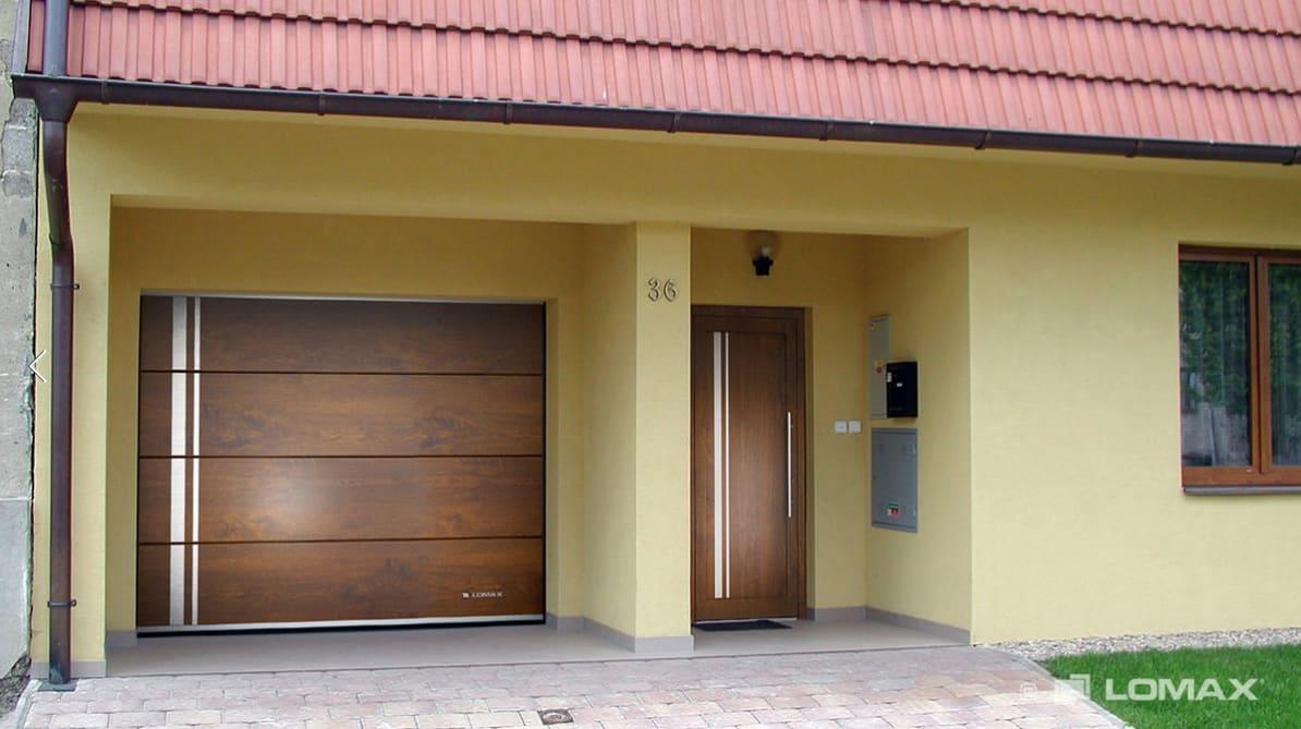 Vchodové dveře Lomax
