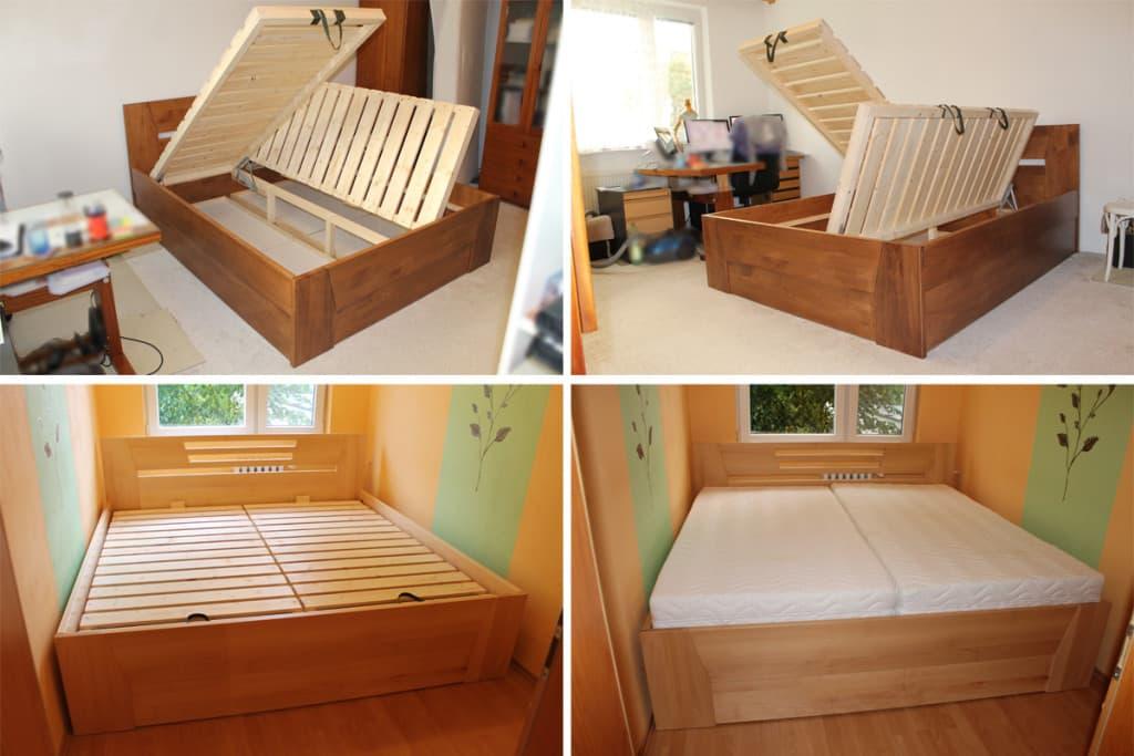 Postele z masivu přinesou i bezpečí do vaší ložnice