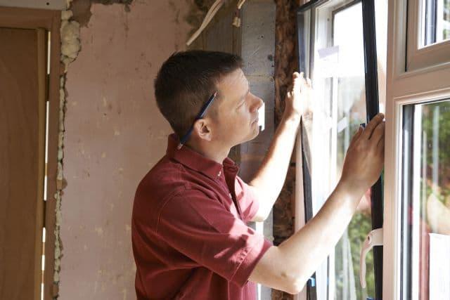Instalování okna