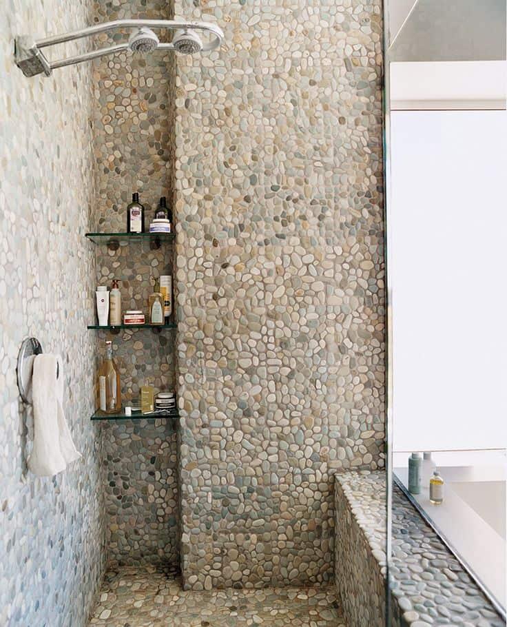 Přírodní kámen koupelna