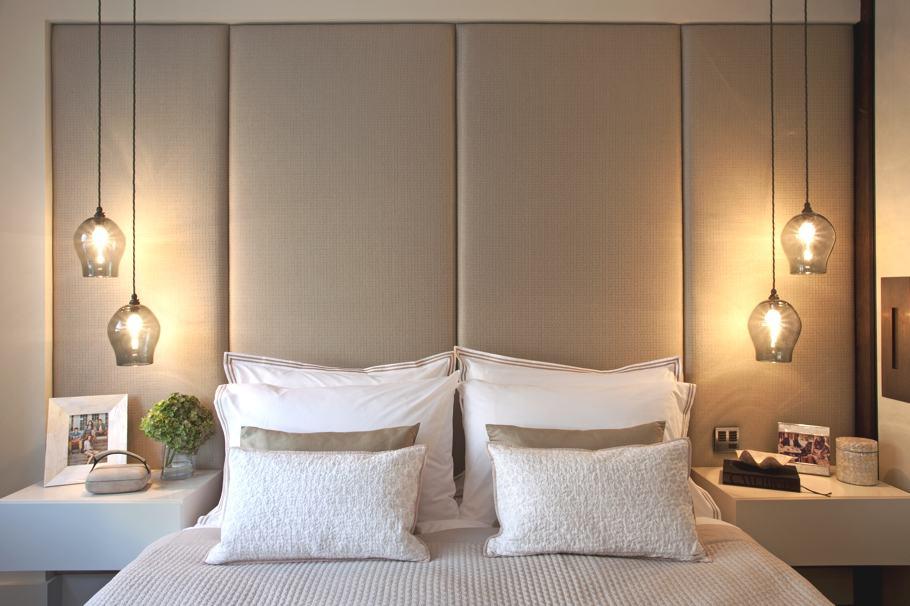 Závěsná světla ložnice